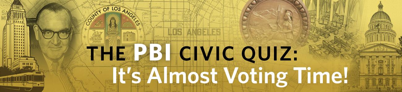 , The PBI Quiz: It's Almost Voting Time!