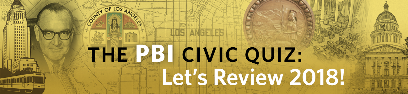 , PBI Quiz: Let's Review 2018!