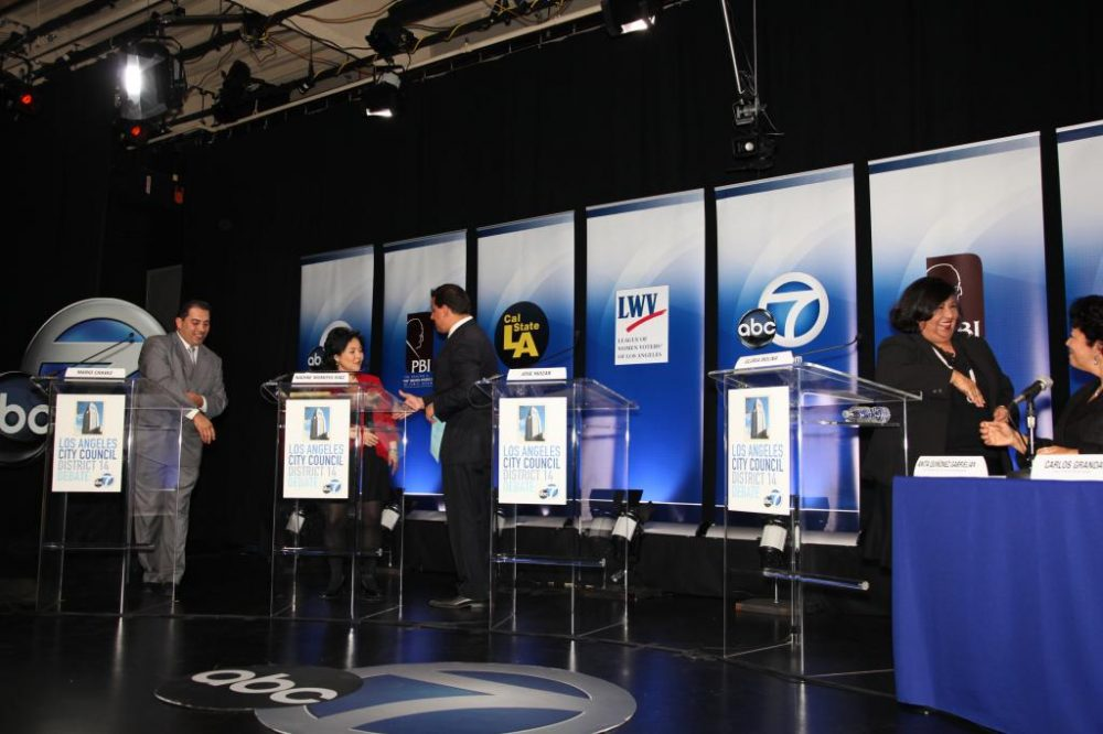 2014 LA City Council District 14 Debate - 133