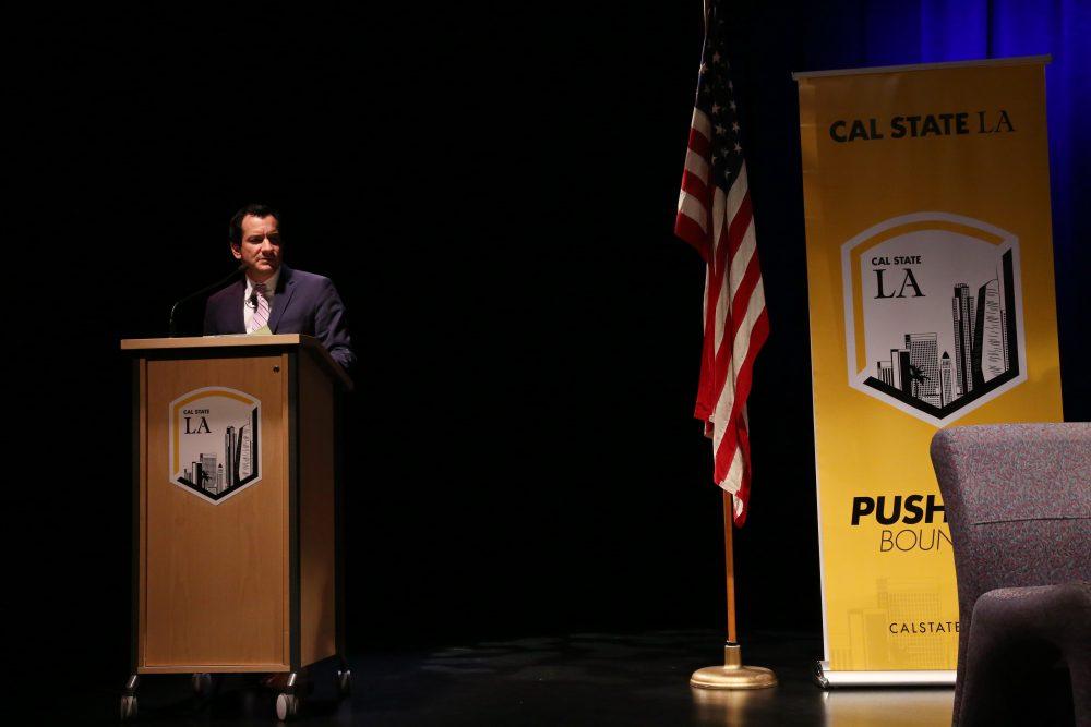 , 2016 Distinguished Speaker </br> Assembly Speaker Anthony Rendon