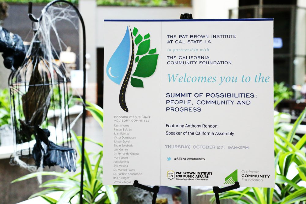 , 2016 Summit of Possibilities: <br /> People, Community and Progress