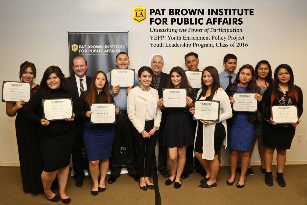 2015 – 2016 YEPP Cohort