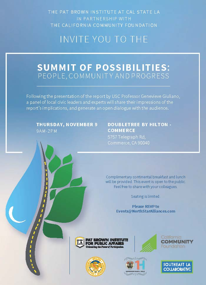2017 Summit of Possibilities: <br />People, Community and Progress