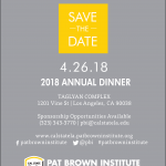 2018 Annual Dinner Registration Page