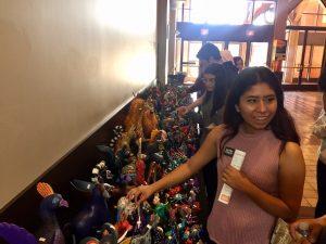 , YEPP Leaders Visit The Autry's LA RAZA Exhibit