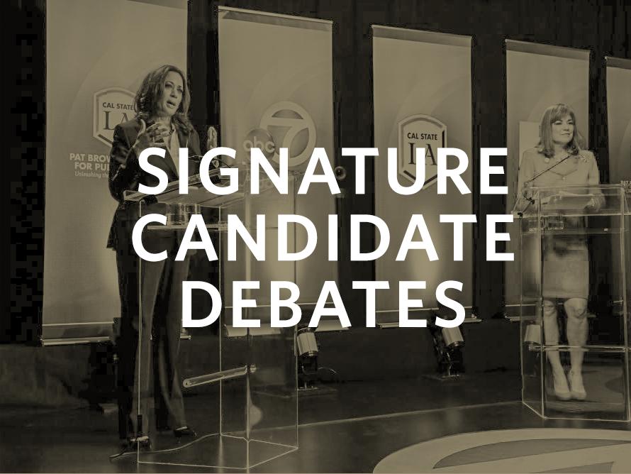 , Candidate Debates