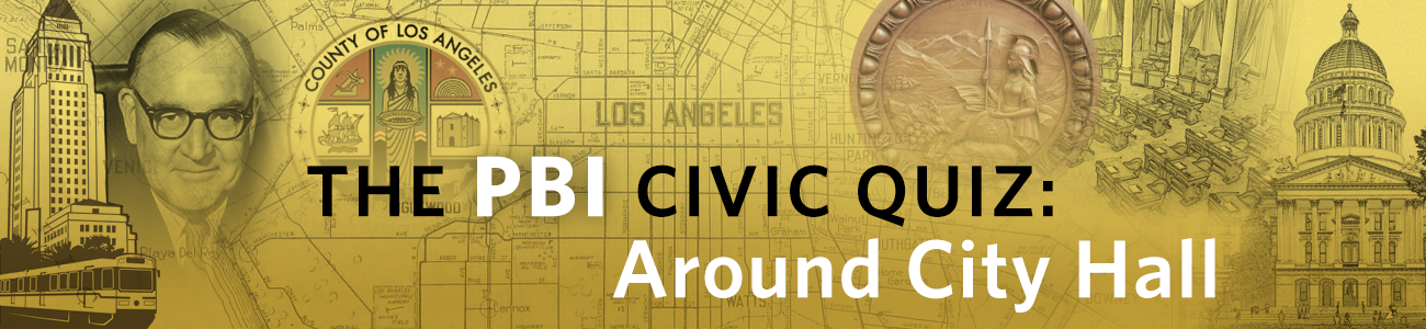 , The PBI Quiz: Around City Hall