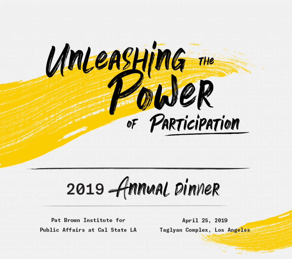 2019 Annual Dinner Registration and Sponsorship