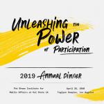 2019 Annual Dinner Registration and Sponsorship