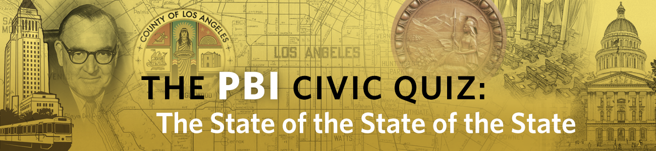 , PBI Quiz: State of the State