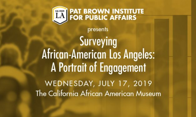 Surveying African-American Los Angeles: A Portrait of Engagement