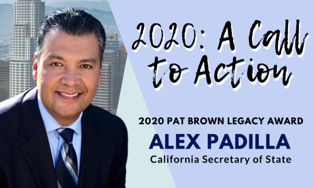 2020: A Call to Action Webinar with CA Secretary of State Alex Padilla Tuesday, August 4