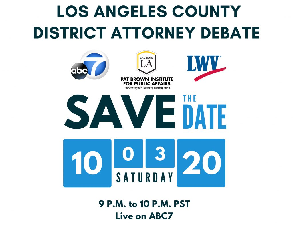 Los Angeles County District Attorney Debate