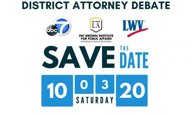 Los Angeles County District Attorney Debate